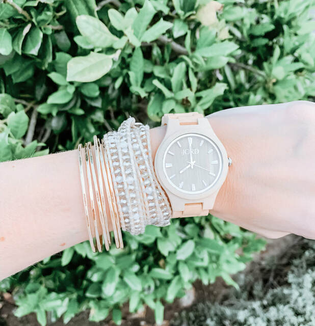 My Favorite Spring Accessory | A Unique Timepiece by JORD